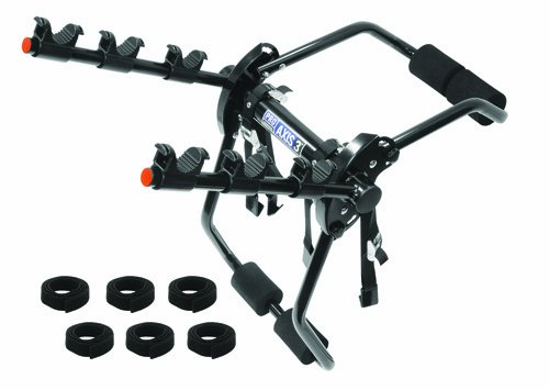 Pro Series 1370600 Axis 3 Black 3-Bike Trunk Mount Bike Carrier front-993109