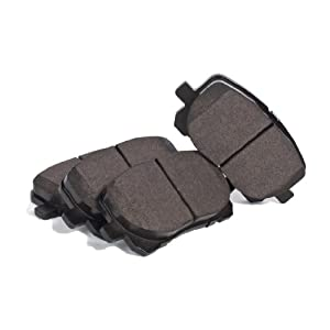KFE Quiet Comfort OE KFE923-102 Premium Semi-Metallic Front Disc Brake Pad Set from KFE Brake Systems
