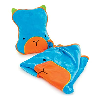 Trunki SnooziHedz Travel Pillow and Blanket (Blue) from Magmatic