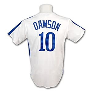 Andre Dawson Montreal Expos White Majestic Cooperstown Replica Jersey by Majestic