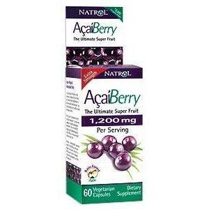 Natrol acaiberry diet 60 capsules