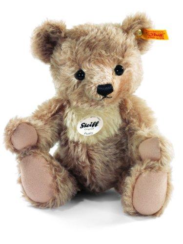 Steiff Paddy Teddy Bear Plush, Light Brown