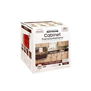 Rustoleum Countertop Paint Amazon : RUST-OLEUM 258241 Light Tint Base Cabinet Transformations Kit, Large ...