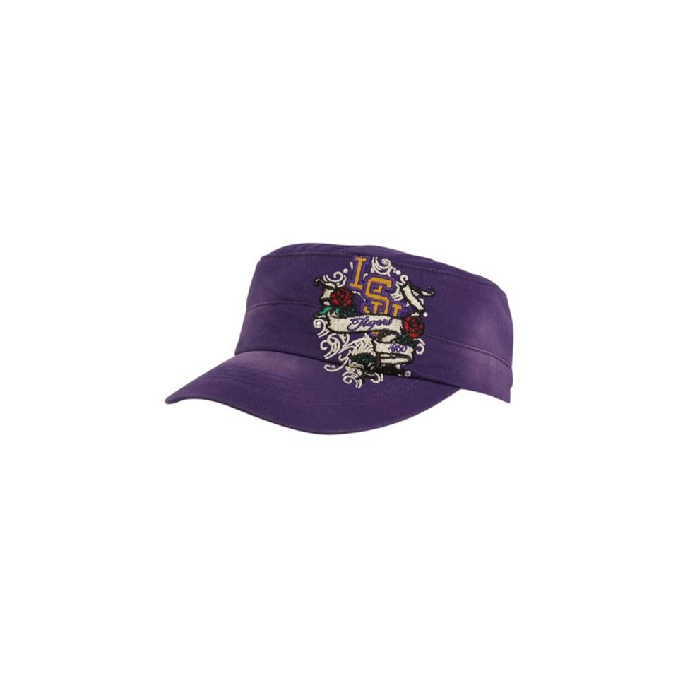 Top Of The World LSU Tigers Ladies Purple Eve Adjustable Military Style Hat