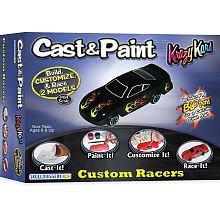 Cast & Paint- Krazy Kars with Blo-Pens