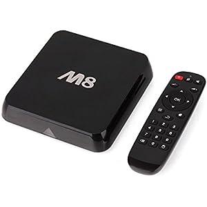 X-Direct M8 Streaming Media Player KODI 16.0 Amlogic S802 Quad Core Cortex A9@ 2GHz Android 4.4 Smart TV Box XBMC