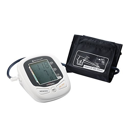 Top Rated Arm Blood Pressure Monitor with Irregular Heartbeat Detector, Superior Accuracy, Voice and WHO Function and Large LCD display (Nissei Blood Pressure Monitor compare prices)