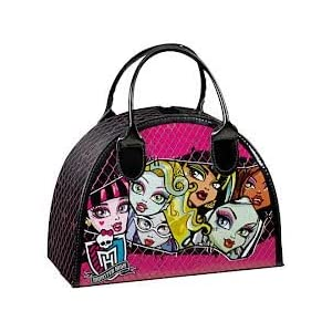 Game on Monster High Make Up Cosmetic Vanity Case Amazoncouk Toys Games