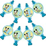 Mickey Mouse 1st Birthday Blowouts / Favors (8ct)