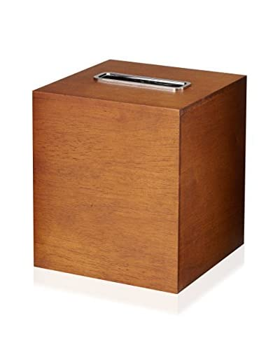 Gedy by Nameeks Wood Tissue Box Holder, Brown