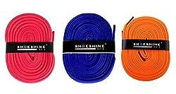 Sport Flat Shoelace (Pink, Indigo, Neon Orange)