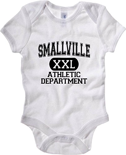 T-Shirtshock - Body neonato OLDENG00244 smallville athletic department, Taglia 3-6mesi