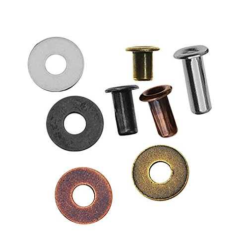 TierraCast 160 Piece Brass Eyelet & Washer Assorted (Brass Washers For Jewelry compare prices)