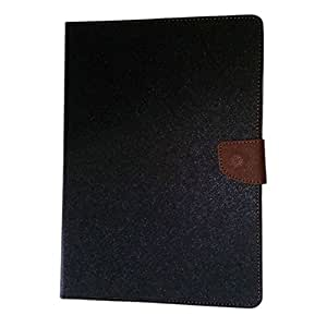Mobi Fashion Flip Cover For Samsung Galaxy Tab S2/T810 9.7 inch - Black Brown