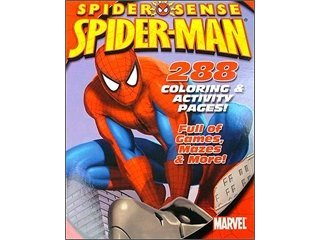 Bendon Coloring & Activity Spider Man Book