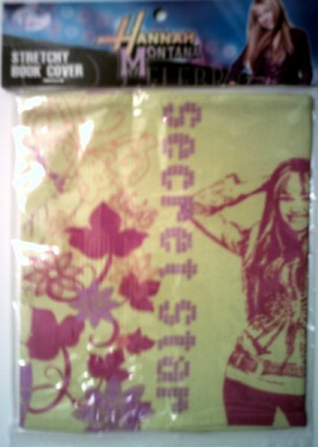Hannah Montana Stretchy Book Cover - Yellow - 1