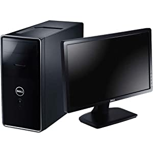 "Dell Computer Corp Inspiron 620 Desktop PC with 24"" LED Monitor - i620-9994NBK"