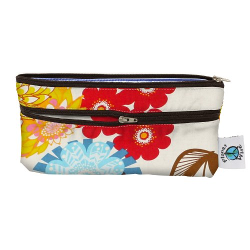 Planet Wise Travel Wet/Dry Bag, April Flowers - 1