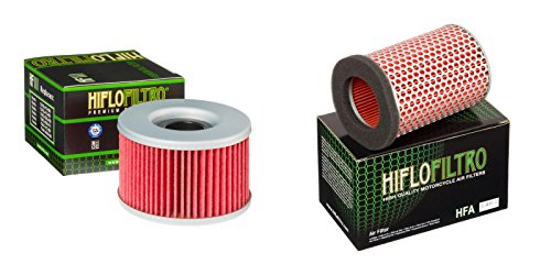 Oil and Air Filter Kit for HONDA GL500 Silver Wing PC02 81-82 HIFLO FILTRO (Honda Gl500 compare prices)
