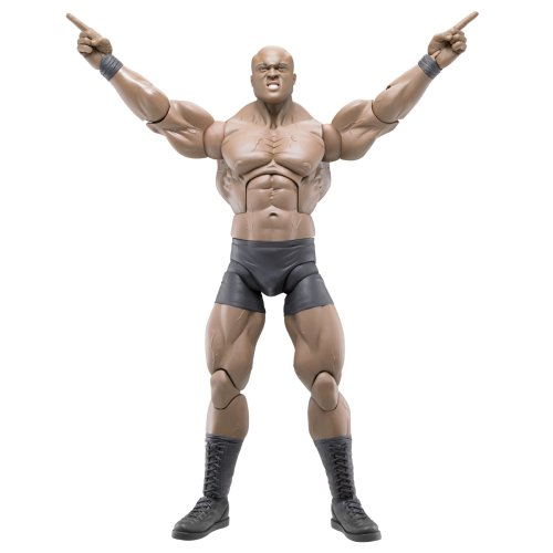 Buy Low Price Jakks Pacific WWE Wrestling MAXIMUM Aggression 12 Inch Series 1 Action Figure Bobby Lashley (B00173A7IY)