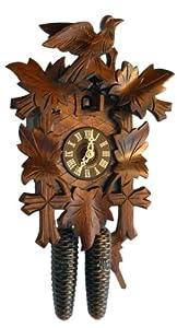 Hekas 810, 8 Day Cuckoo Clock, 13 Inch