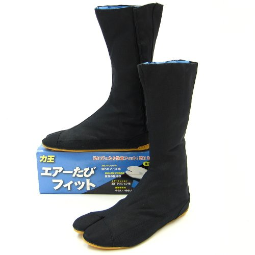 Воздушные каждый слепой погони воздуха fit (черный) 12 воздуха обувь Таби 株式会社力 Кинг (26,0 см)