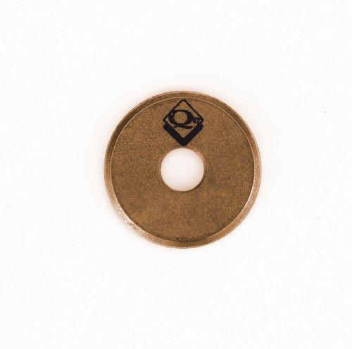 QEP 10117 Tile Cutter Replacement Cutting Wheel, 7/8-Inch Titanium Coated Tungsten-Carbide