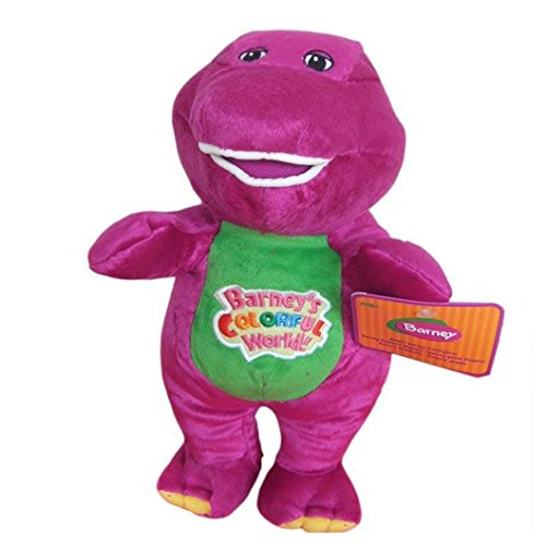 """Best Pal Barney The Dinosaur 16"""" Plush Musical Singing Colorful World Doll front-206200"""