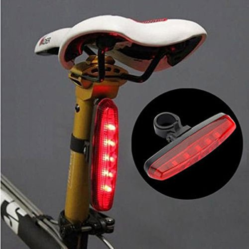 Ultra Bright 8 Modes 5 LED Bicycle Bike Safety Warning Rear Tail Light Back Lamp (Rims For Gmc Sierra 1500 compare prices)