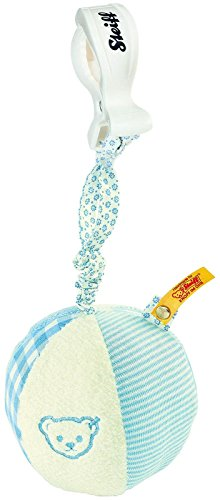 Steiff Rattle Ball With Rustling Foil - Blue