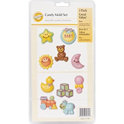 Wilton Baby Candy Mold Set