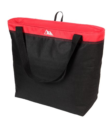 Arctic Zone 45 Can Eco Blend Thermal Tote, Red (Foldable Cooler compare prices)