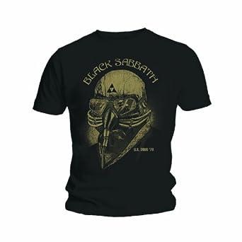 Official T Shirt BLACK SABBATH Avengers Iron Man US TOUR 78 S