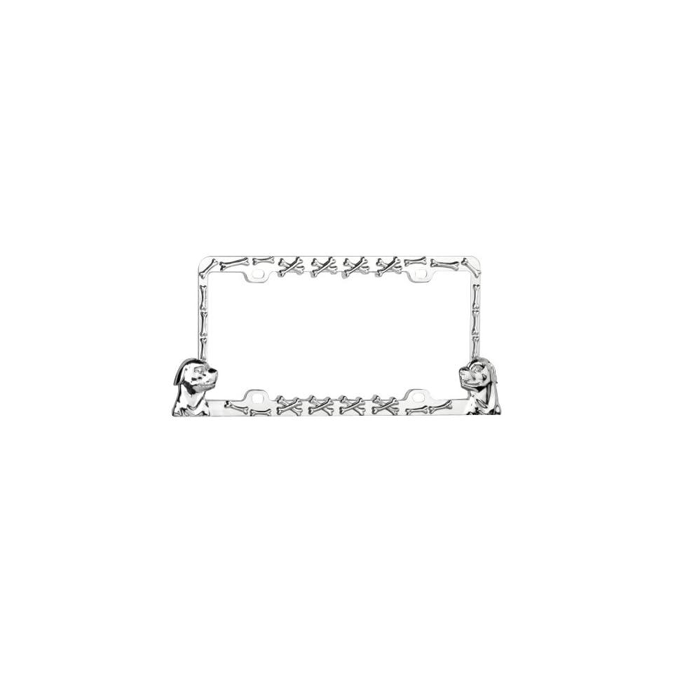 Valor Auto Companion LPF6MN001ZWB Plastic License Plate Frame