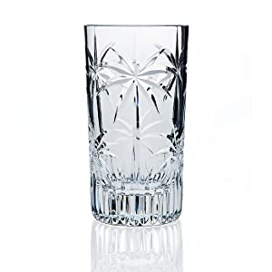 Godinger Palm Highball, Set of 4