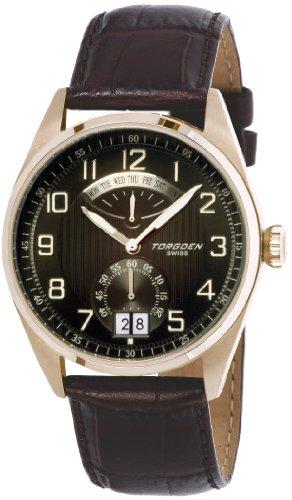 Torgoen Swiss Men's T29104 T29 Retro-Grade Aviation Watch