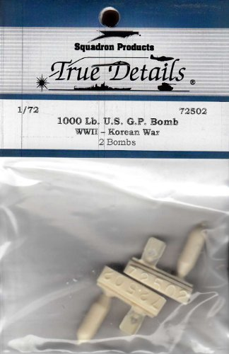 True Details 1000-Pound WW II Korean War US GP Bomb