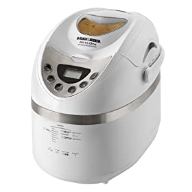 Black & Decker B2250 All-In-One Automatic Breadmaker for 1-1/2 to 2-Pound Loaves