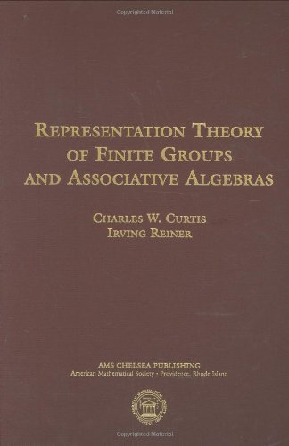 Representation Theory of Finite Groups and Associative Algebras (Ams Chelsea Publishing)