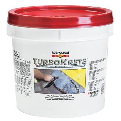 Rust Oleum 253479 TURBOKRETE CONCRETE PATCH SMALL KIT 2.0 GAL