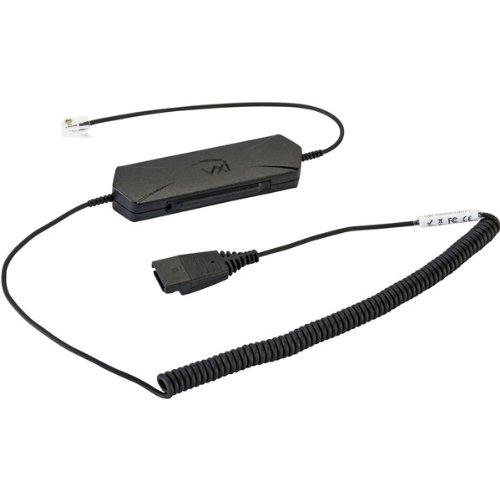 Brand New Vxi Omnicord Audio Booster/Adapter Cord-Gn/Jabra Version