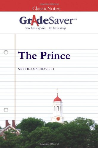 the prince essays machiavelli Starting an essay on niccolò machiavelli's the prince organize your thoughts and more at our handy-dandy shmoop writing lab.