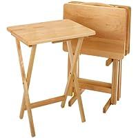 5-Piece Rectangular TV Table Set