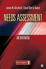 Needs Assessment: An Overview  (Book 1)