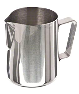 Update International EP-20 Stainless Steel Frothing Pitcher, 20-Ounce from Update International
