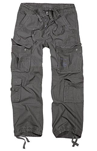 Brandit -  Pantaloni  - cargo - Uomo Antracite M (32 Cintola)