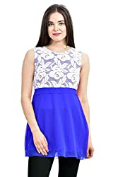 Femninora Blue Color Tunic