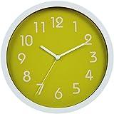 HITO™ modernen bunten Stille Nicht-tickende Wanduhr- 10 Zoll (grün)