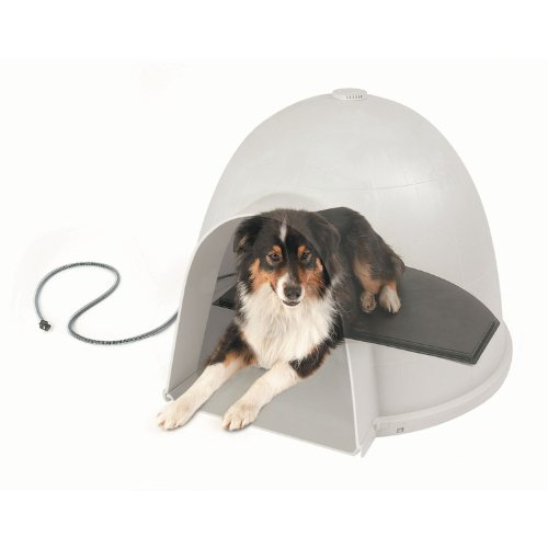 KH-Manufacturing-Lectro-Kennel-Igloo-Style-Outdoor-Heated-Pad-Black