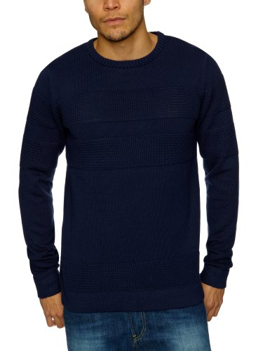Selected Cover Crew Neck Men's Jumper Maritime Navy Large